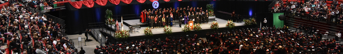 College of Arts and Letters Commencement